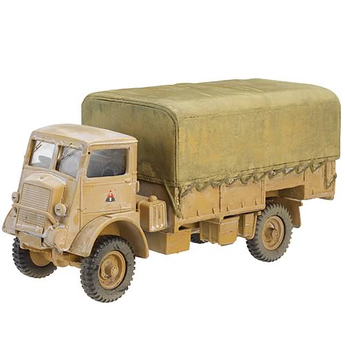 Bedford North African QLD Truck with Infantry Set