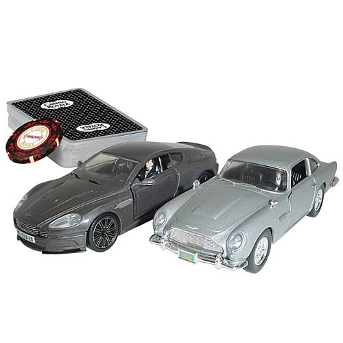 James Bond Casino Royale Aston Martin DB5, DBS Briefcase