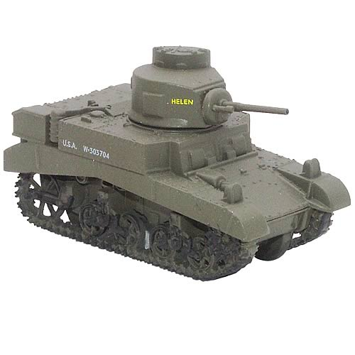 Company B 192nd Tank Battalion M3 Stuart Light Tank Replica