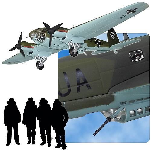 Heinkel He 111H-1 wk-nr 5449 Airplane Replica