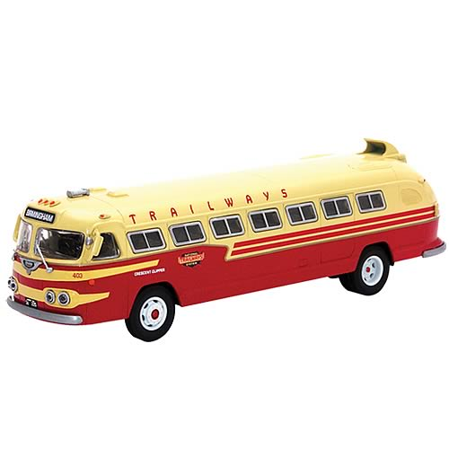 Flxible Clipper Trailways Crescent Clipper Die-Cast Bus