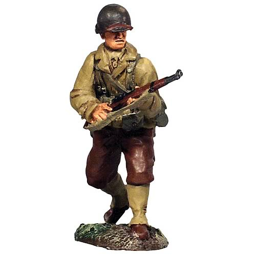 Forward March WWII 1944 US Infantry 6-Piece Figure Set