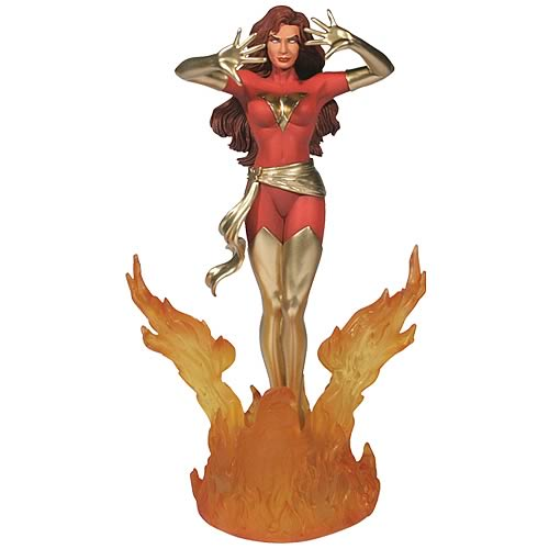 X-Men Dark Phoenix  1:12 Scale Metal Statue