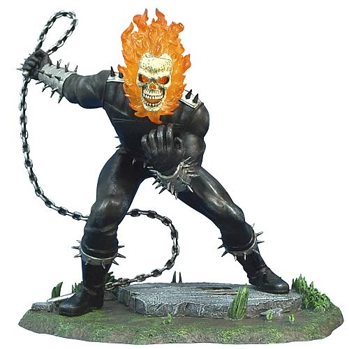 Ghost Rider 1:12 Scale Metal Statue