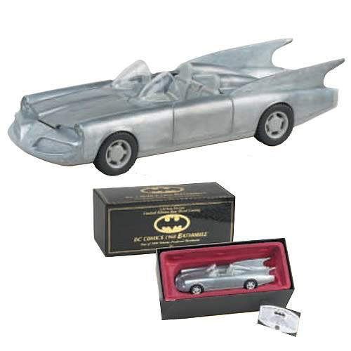 Batman 1960s Raw Casting Batmobile Metal Vehicle