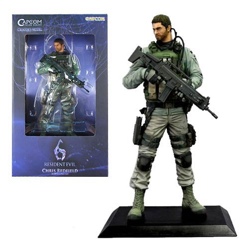 Resident Evil 6 Chris Redfield CFB Statue