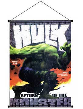 Hulk Monster Wall Scroll