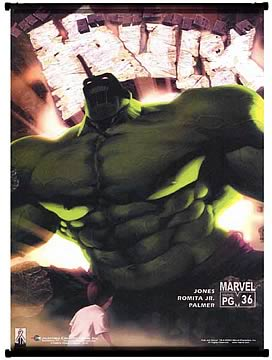 Incredible Hulk 36 Wall Scroll