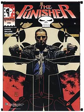 Punisher MK#6  Wall Scroll