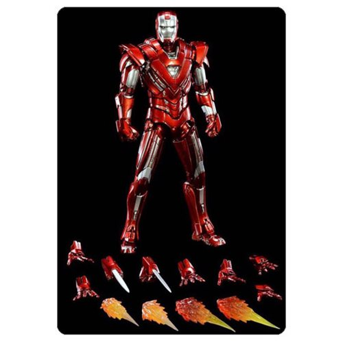 Iron Man Mark 33 Silver Centurion Die-Cast Action Figure