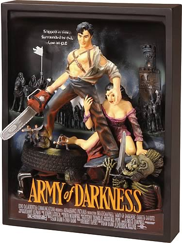 Army of Darkness Movie Poster Sculpture
