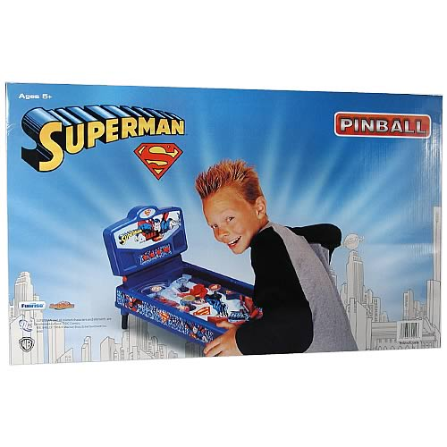 Superman Deluxe Pinball Machine