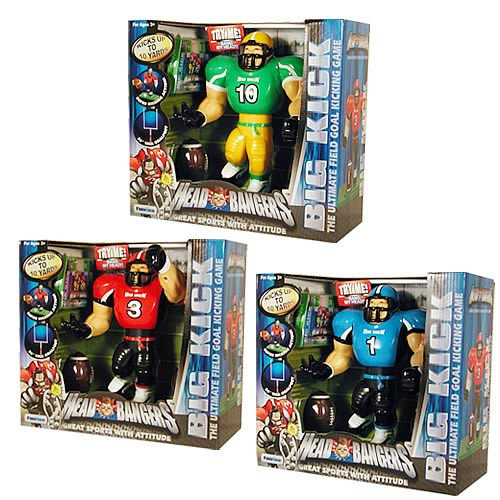 Head Bangers Big Kick Football Figure