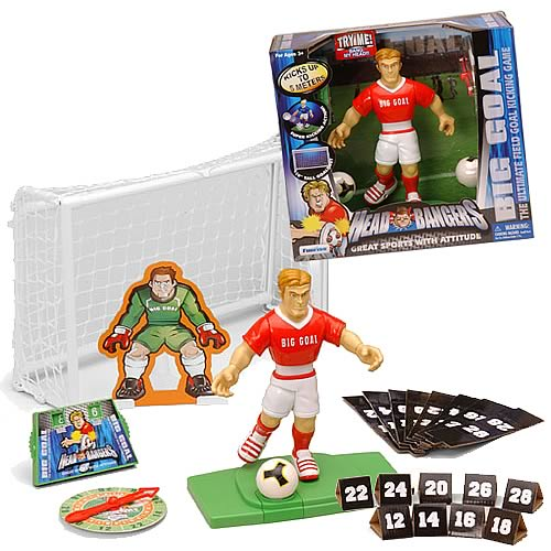 Head Bangers Big Kick Soccer Figure