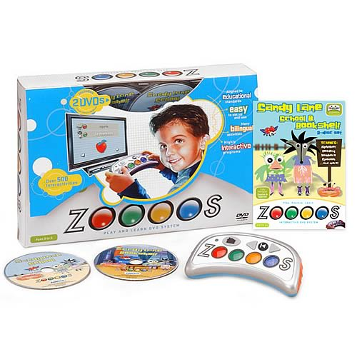 Zoooos Interactive DVD Controller System