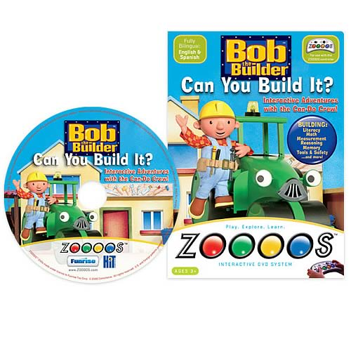 Zoooos Bob the Builder DVD