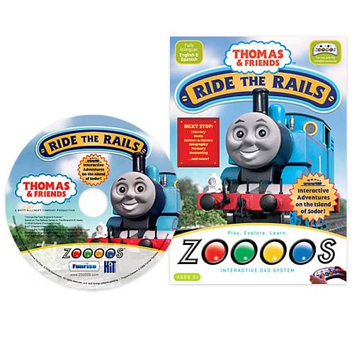 Zoooos Thomas & Friends DVD
