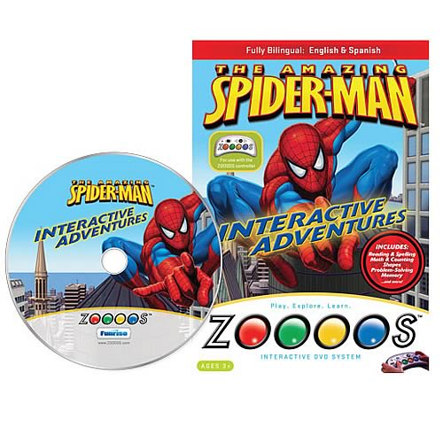 Zoooos Spider-Man DVD