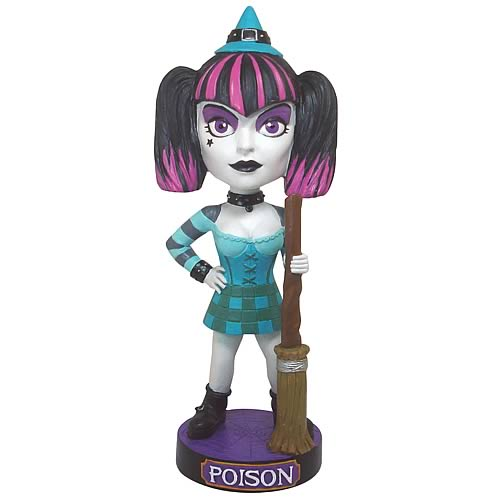 Goth Witch Bobble Head
