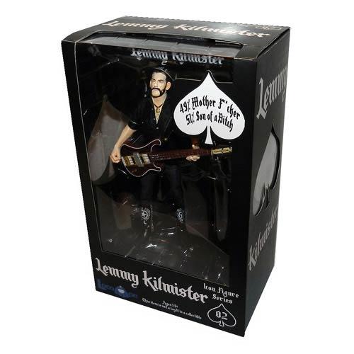 Motorhead Lemmy Kilmister 6-Inch Action Figure