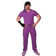 Big Lebowski Jesus Purple Deluxe Adult Costume