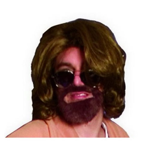 Big Lebowski Dude Wig and Beard Costume Kit