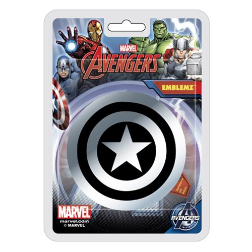 Captain America Shield Injection-Molded Emblem