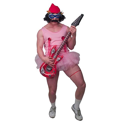 Cheech Amp Chong Up In Smoke Cheech Pink Tutu Adult Costume