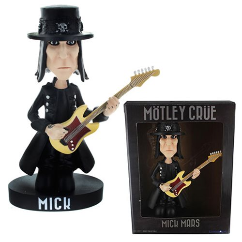 Motley Crue Mick Mars Bobble Head