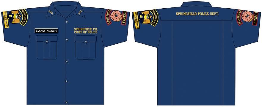 Springfield Police Shirt