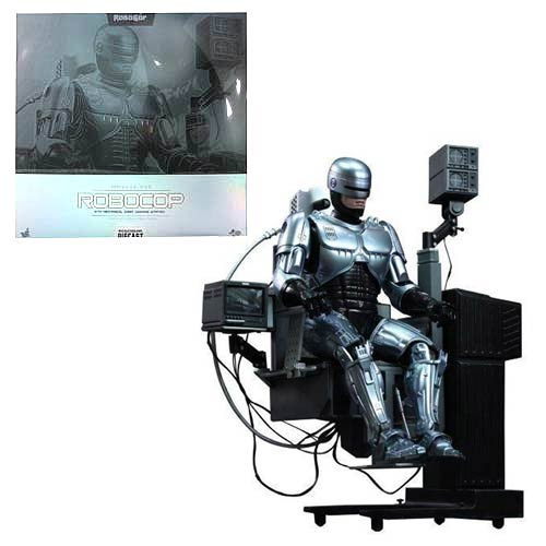 RoboCop 1:6 Movie Masterpiece Figure with Docking Station