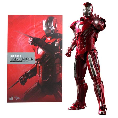 Iron Man 3 Mark 33 Silver Centurion 1:6 Scale Figure