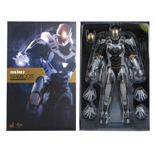 Iron Man 3 Movie Mark 39 Starboost 1:6 Scale Action Figure