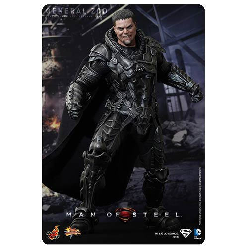 Superman Man of Steel General Zod 1:6 Scale Figure
