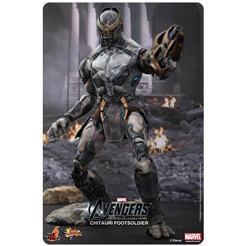 Avengers Chitauri Footsoldier Movie Masterpiece 1:6 Figure