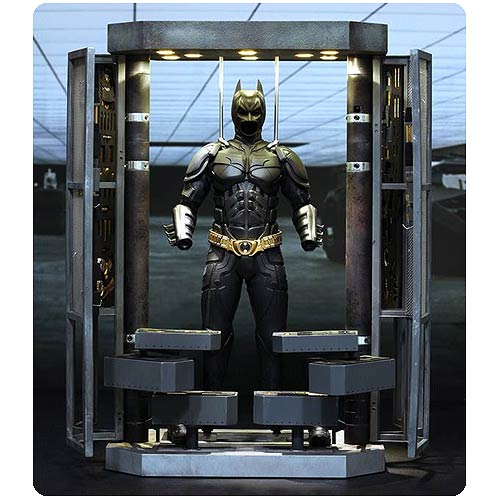 Batman Dark Knight Armory and 1:6 Scale Action Figure