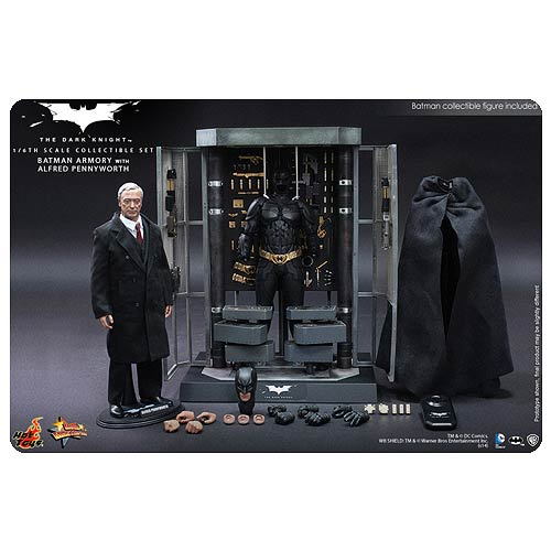 Batman Dark Knight Armory with Batman and Alfred Figures