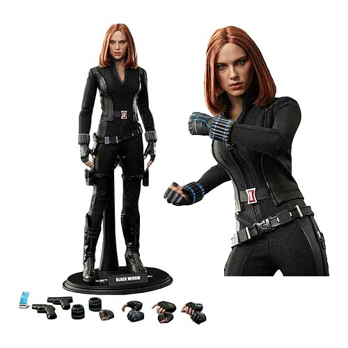 Captain America Winter Soldier Black Widow 1:6 Scale Figure