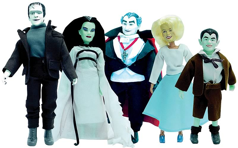 The Munsters 8-inch Figure Series 1 Case