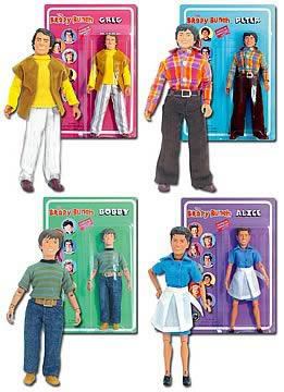 Brady Bunch 8-inch Figure Series 1 Set