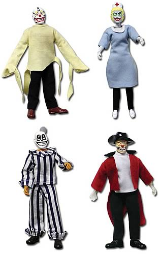 Mad Clowns 8-inch Figure Series 1 Set