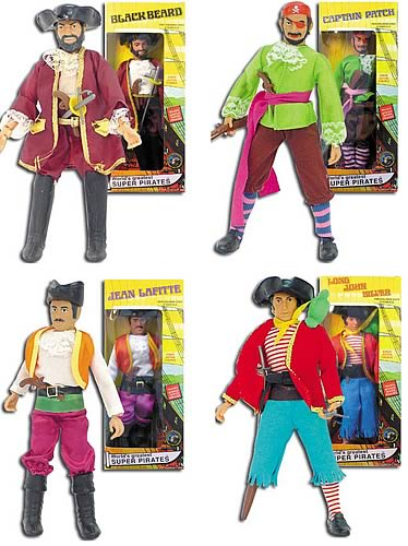 Super Pirates 8-inch Figure Series 1 Set