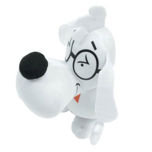 Rocky and Bullwinkle Mr. Peabody Plush