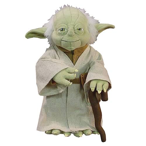 Star Wars Yoda Poseable Plush