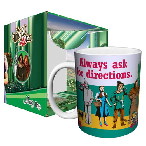 Wizard of Oz Ask for Directions 11 oz. Mug