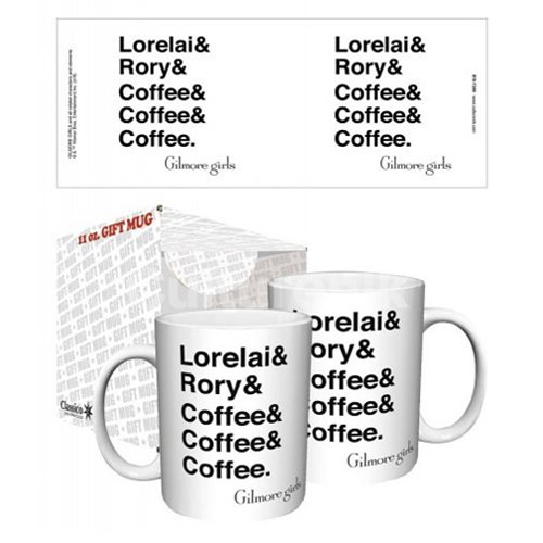 Gilmore Girls Lorelai and Rory and Coffee 11 oz. Mug
