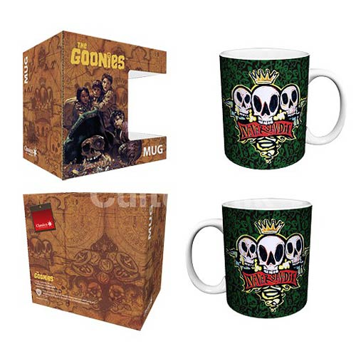 The Goonies Never Say Die Green 11 oz. Mug