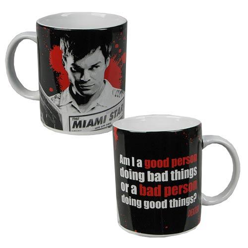 Dexter Blood Never Lies 11 oz. Mug