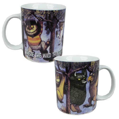 Where the Wild Things Are Hanging From Trees 11 oz. Mug