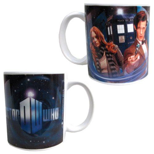 Doctor Who Doctor and Amy 11 oz. Mug